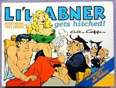Al Capp L'IL ABNER #18 Gets Hitched Married John STEINBECK Introduction Hardcover Kitchen Sink Newspaper Daily Comic Strips Collection