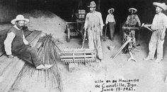 Francisco Villa en su retiro es Junio de 1921. El lugar, la mítica Hacienda de Canutillo.