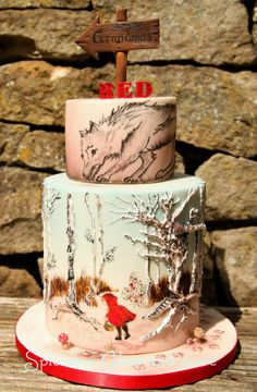 Edible Art, Little Red Riding Hood   Splendor - Cakes and more