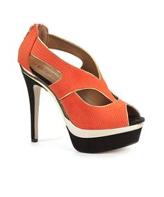 Tangerine is the Pantone color pick for 2012. Can't wait for open-toe shoe season!