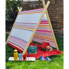 Masni Garden kid tent tepee DIY by Masni Decoration | Kidu0027s stuff | Pinterest | Kids tents Garden kids and Kinder au2026 : kids garden tent - memphite.com