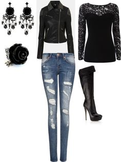 1000 Ideas About Gemma Teller Style On Pinterest Biker Chic Biker Chick Style And Polyvore