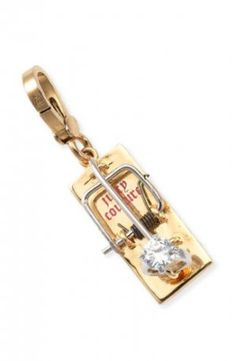 Juicy Couture Engagement Ring Mousetrap And  Charm for Bracelet Wristlet YJRU3174