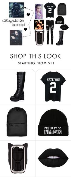 """""""Social Repose Pt 4"""" by kennajayce on Polyvore featuring Rains, STELLA McCARTNEY, Lime Crime and Albino"""