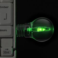 LED Bulb Flash Drive