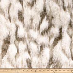 Faux Fur Tibetan Sand Fox Ivory/Beige $31.48. Wash gentle, air dry.