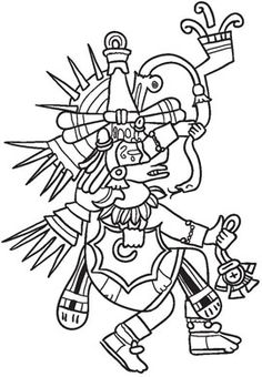 The Toltecs were the first real group in the Mexico area, but they were not present for very long. They were the base for the Aztecs though, and made some Gods for the Aztecs to follow in the future. This god, Quetzalcoatl, was the god of many things, including healing agriculture, resurrection, and even death. He was described as a feathered serpent, and legend has it that a rival god, Tezcatlipoca, tricked him into his death. There are legends that say he would return.