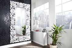 Zrkadlá : Luxusné zrkadlo Veneto strieborné 180cm