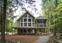 House Plans - Wood Lake - Linwood Custom Homes Open Floor House Plans, Cabin House Plans, Simple House Plans, Cottage Floor Plans, Basement House Plans, House Plans One Story, Bedroom House Plans, New House Plans, Custom House Plans