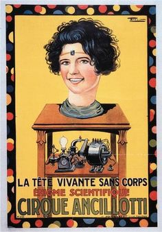 Circus Ancillotti poster 1914