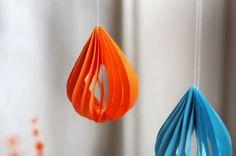 我們看到了。我們是生活@家。: 可愛的小水滴吊飾!來自美國設計網站How About Orange