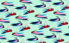 """Camille Epplin Koehl - Motif """"Bugs"""" en papier découpé Paper Cutting, Sprinkles, Bugs, Illustrations, Papercutting, Pattern, Beetles, Illustration, Illustrators"""
