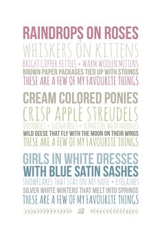 LostBumblebee 2013 Favourite Things Free Printable