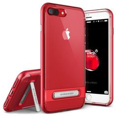 VRS Crystal Bumper iPhone 7 Plus (5.5 in) Case - Red