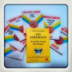 """""""Ölüm Bir Varmış Bir Yokmuş - Jose Saramago"""" Beyaz Kitaplık'ta http://beyazkitaplik.blogspot.com/2013/10/olum-bir-varmis-bir-yokmus-jose-saramago.html"""
