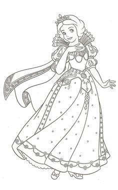 coloriage princesse en ligne gratuit