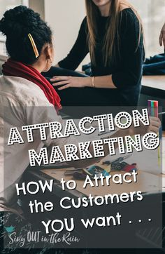 If you are in Direct Sales or an MLM - you may be hearing how important attraction marketing is to success in social media.  In this post, I share examples, tips and ideas to help you understand what it truly is - I also point you to a course that REALLY helped me.   #socialmedia #directsales #marketing #business #entrepreneur