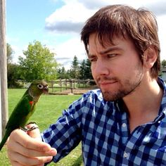 Torrance Coombs - I do love a man that loves birds...