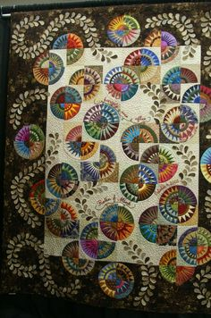 Appears to be a wedding quilt.  So beautiful!