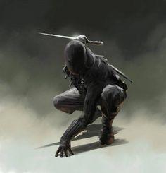 m Rogue Assassin Leather Armor Mask Shortsword Daggers Poison urban City warrior med Character Concept, Character Art, Concept Art, Character Design, Medieval Fantasy, Dark Fantasy, Fantasy Art, Inspiration Drawing, Character Inspiration