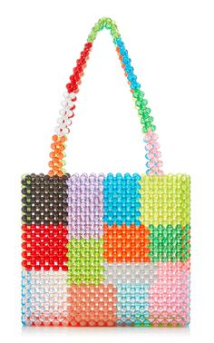 Susan Alexandra Hand-Beaded Bags from the Fall 2018 Collection Beaded Purses, Beaded Bags, Popular Handbags, Handbags Online, Easy Sewing Projects, Vintage Handbags, Crochet Motif, Large Bags, Bead Art