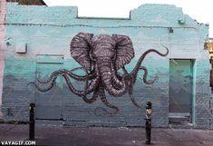 Graffiti en movimiento