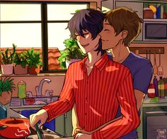domestic klance ft. keith singing and clingy lance pic.twitter.com/EYx5uhDniH