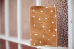 DIY Leather Passport Holder | always rooney