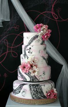 The Cakestress Wedding Cakes