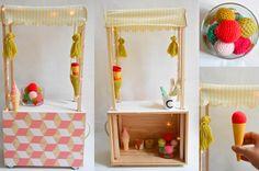 DIY: petite charrette à glaces en vue! - Babayaga