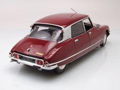 NOREV Citroen DS 23 Pallas 1973 Red 181568 Model Car 1:18 Genuine New | PicClick