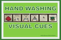 photo of: Visual Prompts for proper Handwashing (Children with Special Needs)