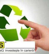 Curs Responsabil cu Gestionarea Deseurilor Logos, Cards, Restaurants, A Logo, Playing Cards, Maps, Legos