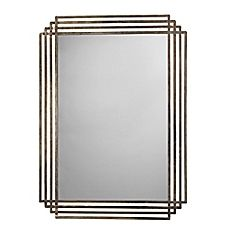 image of Jamie Young 44-Inch x 32-Inch Serai Mirror in Silver