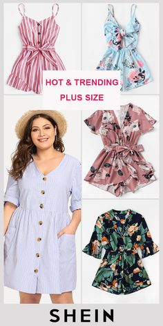 Plus Size Clothing - Plus Size Clothing Source by SHEINofficial - Good Heart Quotes, Great Day Quotes, Cute Quotes For Kids, Fabulous Quotes, Love Quotes For Her, Love Yourself Quotes, Dreamy Quotes, Happy Times Quotes, Sunset Quotes Life