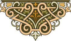 декоративные узоры элементы и орнаменты