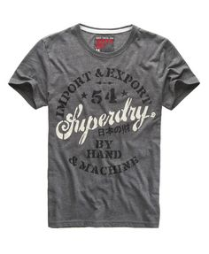 1b6c5397 T-Shirt Superdry Tshirts, Superdry Mens, Printed Shirts, Tee Shirts, Apparel