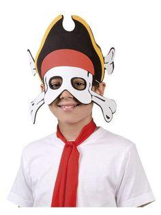 https://11ter11ter.de/40300536.html Piratenmaske Captain Bones #Karneval #Fasching #Mottoparty #Pirat #11ter11ter #Outfit #Kostüm