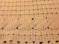 Flor de Liz: Ponto Trança em Crochê