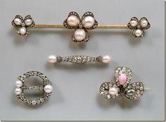 Algunas de las joyas de la emperatriz Elisabeth de Austria