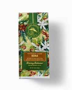 Tommy Bahama Kona Ground Coffee Blend Ground Coffee, Blended Coffee, Island Life, Tommy Bahama, Restaurant, Gourmet, Diner Restaurant, Restaurants, Dining