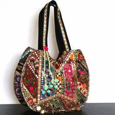 Boho bag via asraistyle.com