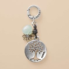 Fossil necklace charm: Tree of Life. The only problem with these charms is which to choose!