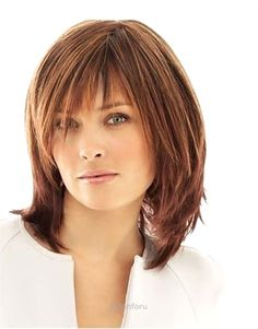 Wonderful Cute Mid Length #Hairstyles for Women Over 40 More The post Cute Mid Length #Hairstyles f ..
