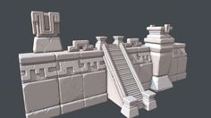 The Journey - Sculpts, Tobias Koepp - Mirilla Ashwood Zbrush Environment, Environment Concept Art, Environment Design, Maya, Isometric Art, Game Props, Heroes Of The Storm, Modelos 3d, 3d Studio