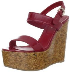Sergio Rossi Womens 5 Patent Cork Sandal, Red, 37.5 EU/7.5 M US Sergio Rossi, http://www.amazon.com/dp/B006G1NSHE/ref=cm_sw_r_pi_dp_ktMrrb1H48N40