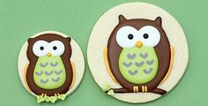 Owl cookie tutorial