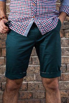 Men's Shorts, Chino Shorts, Men's Chinos, Mens Chino Pants, Slim Fit Chinos, Shorts Online, Clothing Co, Sport Coat, Emerald Green