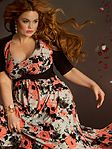 Plus size fashions for Spring 2013 in day dresses, cocktail, evening gowns, separates and wedding.