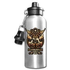 The Bass Glory Water Bottle is a Signature Design from Bass Musician Magazine